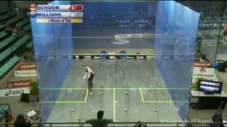 World Men's Team Squash Championship Day 4 (Glass Court 2)