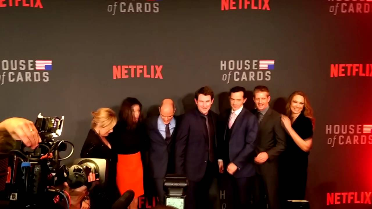 House Of Cards Season 4   Red Carpet Washington D.C.