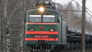 ВЛ10-1357 (Парголово) / VL10-1357 (RZD, St. Peterburg). 2006.(Электровоз ВЛ10-1357. Перегон Шувалово - Парнас, Санкт-Петербург, Россия. 2006. Петришин М. / Бекиров И. VL10-1357 electric..., 2013-12-14T19:51:12.000Z)
