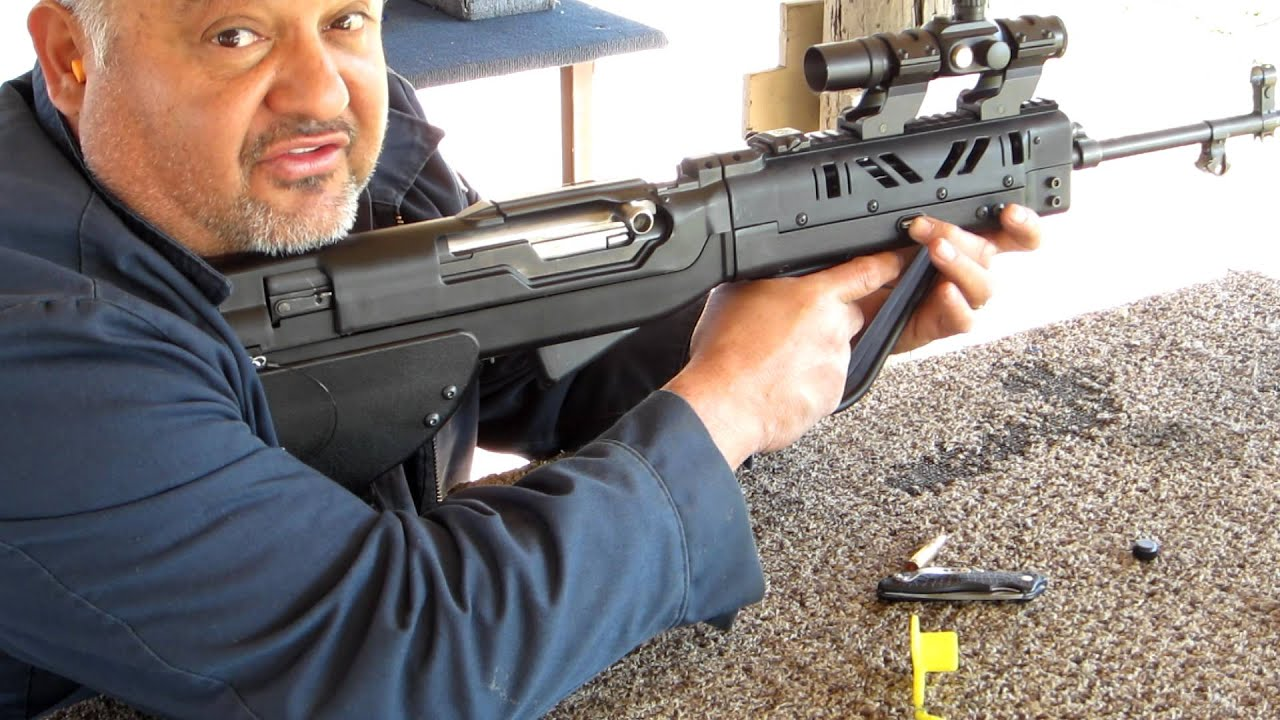 SKS Bullpup SGworks 7 62x39 03 03 2012 range and testing 004 MOV