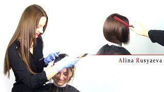 Алина Русяева - окрашивание Kapous | http://dekusar.com.ua | AD studio TV