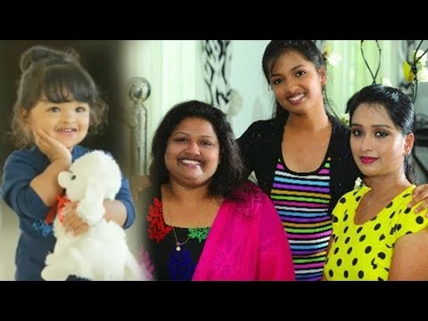Serial Actress rasna with daughter & family | Photos !