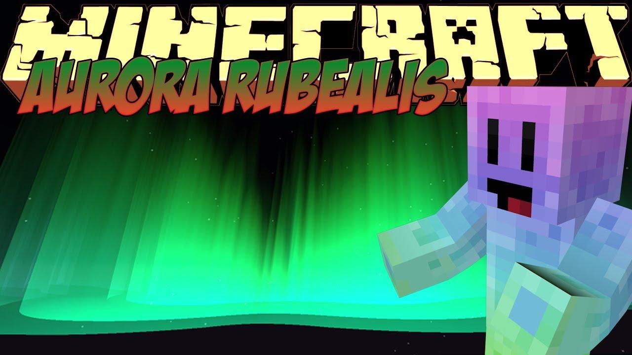 Minecraft Mods Showcase - Aurora Rubealis Mod! (1 8) - 1 7 10 - 1 8 2 -  1 12 0