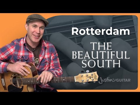 How to play Rotterdam by The Beautiful South (Acoustic Guitar Lesson SB-112)