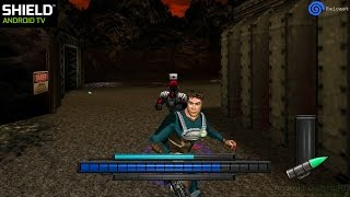 Reicast Dreamcast Emulator for Android - Max Steel: Covert Missions ingame (Shield Android TV)