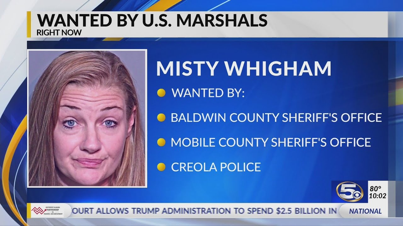 Federal, local officials search for woman wanted across the Gulf Coast