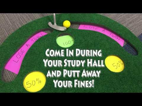 LTHS East MIS Putt Away Your Fines