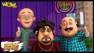 Motu Patlu New Episode | Cartoons | Kids TV Shows | Mr. Badbadiya | Wow Kidz