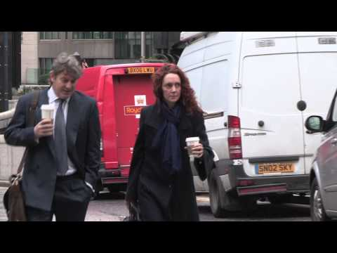 Rebekah Brooks at Old Bailey