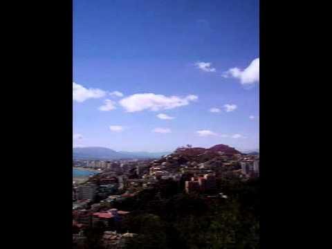 Panorama Of El Morlaco And Malaga From El Limonar