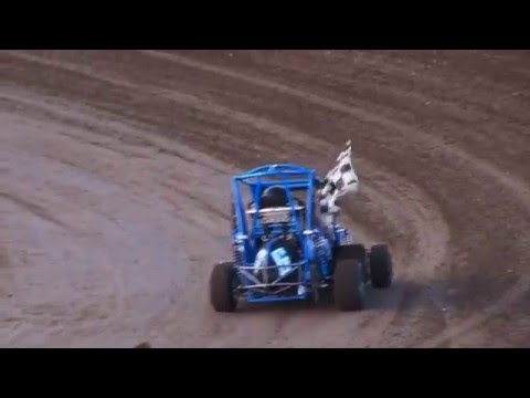 JR Sprints Kids racing Barona Speedway