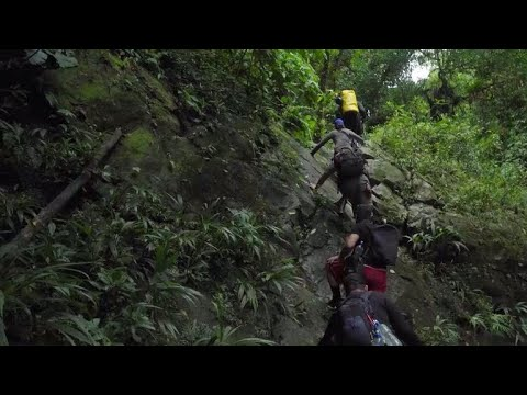 Migrants risk their lives crossing the Darien Gap to get to America