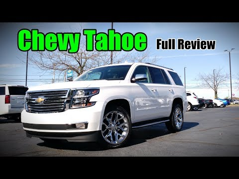 2018 Chevrolet Tahoe: Full Review | RST, Premier, LT & LS