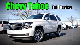 2018 Chevrolet Tahoe: Full Review | RST, Premier, LT & LS
