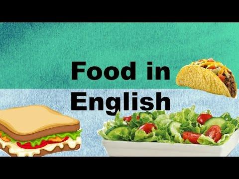 Еда на английском языке для детей и взрослых!