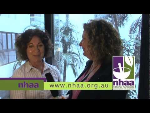Rosaria Nithart  on raw food and herbs. National Herbalists Assoictaion of Australia