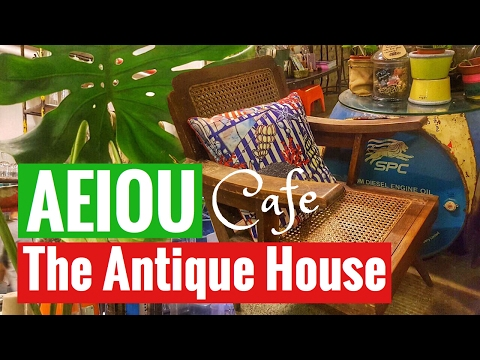 Singapore AEIOU cafes the antique house and vintage cafes Industrial style Avocado Coffee