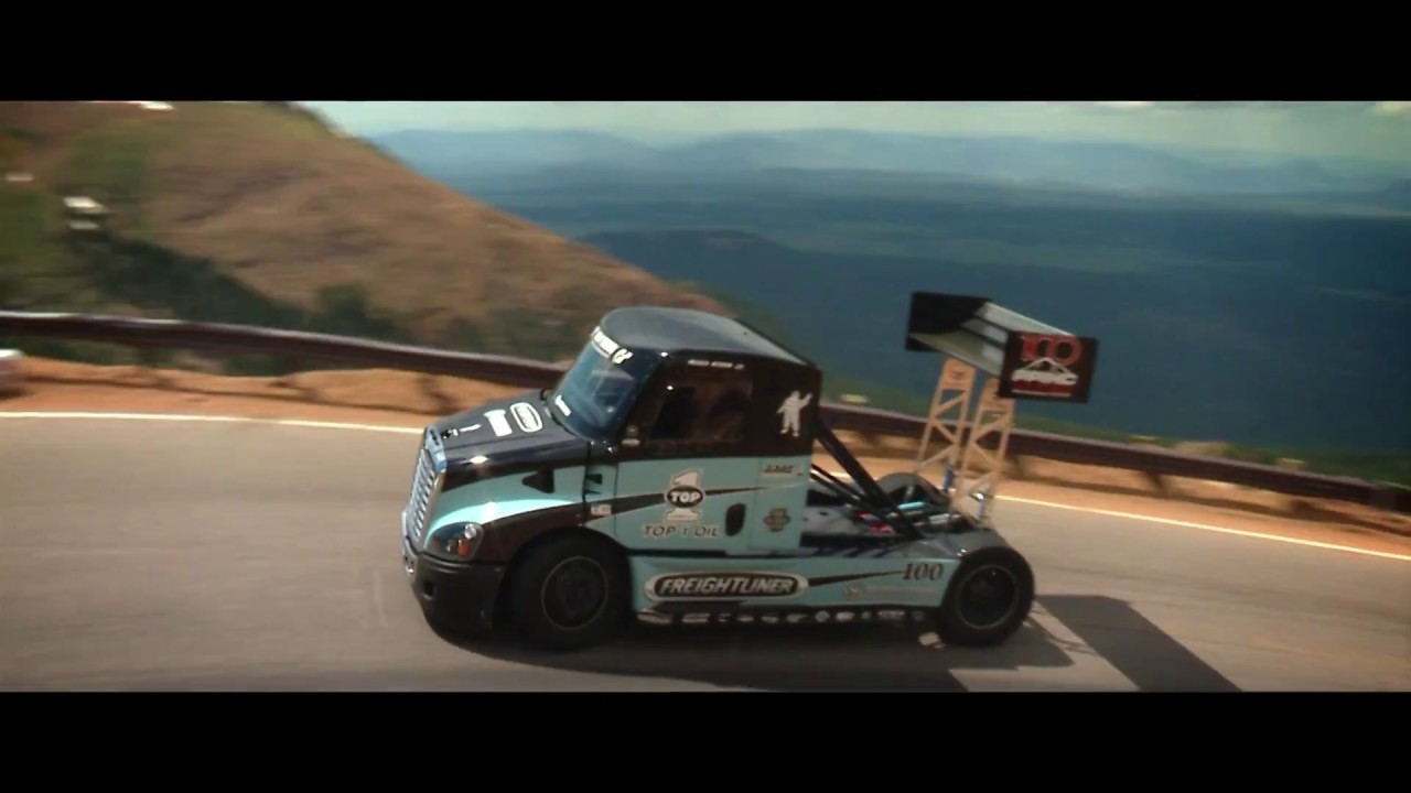 2400 Horse Truck On Pikes Peak International Hill Climb