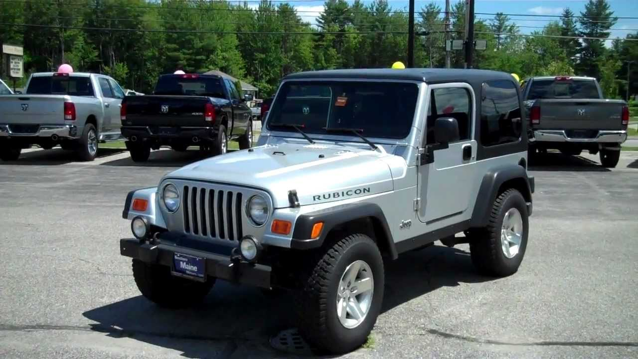 2003 jeep wrangler rubicon 2dr hard top southern maine. Black Bedroom Furniture Sets. Home Design Ideas