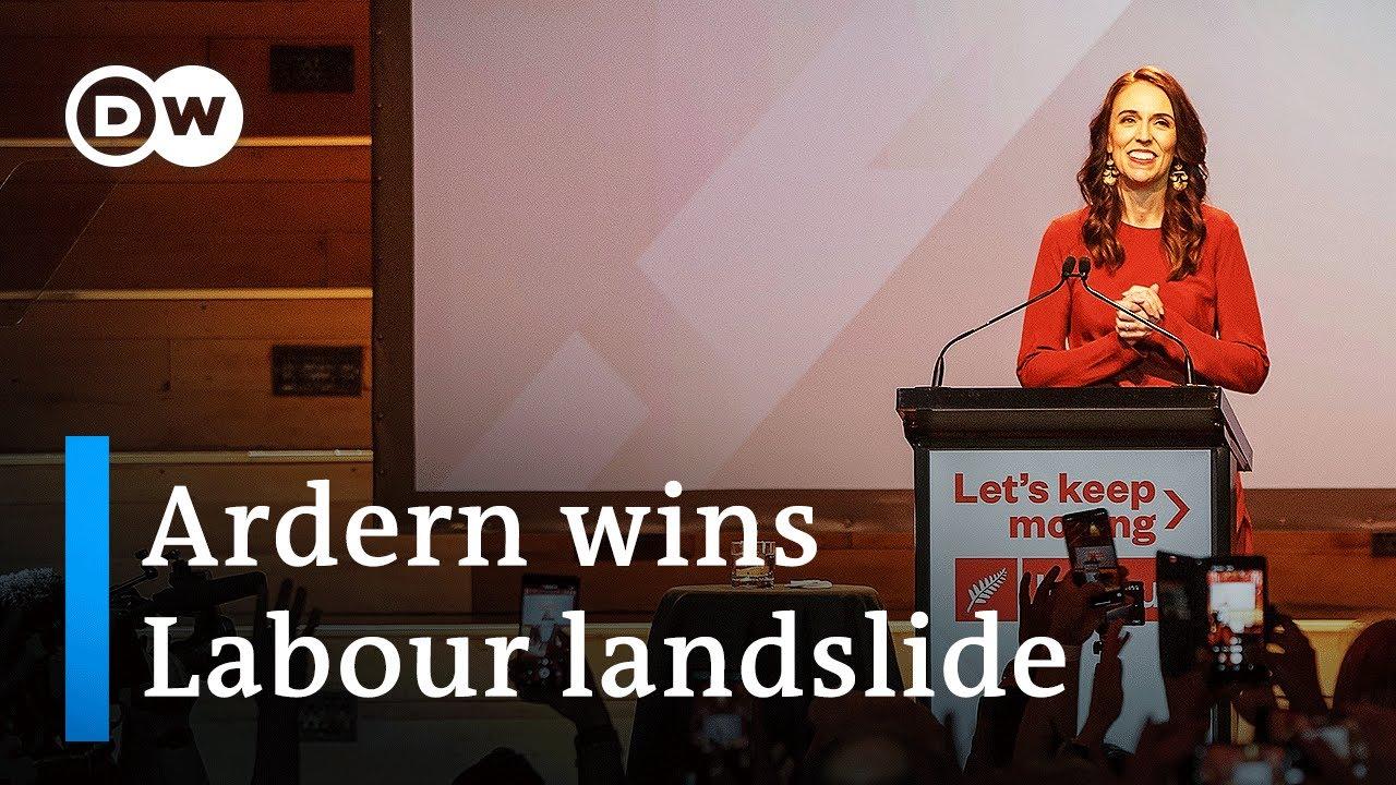 New Zealand Prime Minister Jacinda Ardern Wins Landslide Re ...