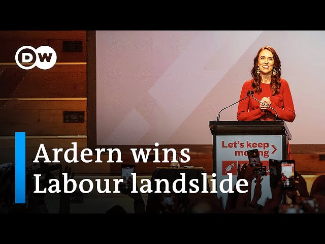 New Zealand PM Ardern's Labour Party wins landslide victory | DW News