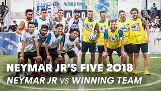 Neymar Jr's Five 2018: Neymar Jr vs Mexico | Five-A-Side Football Tournament