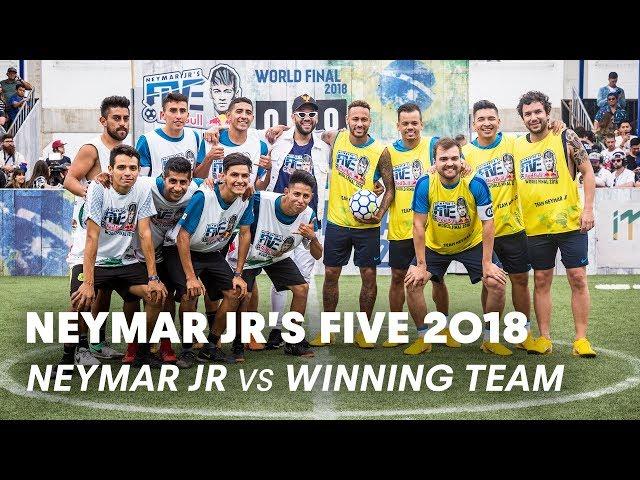 Neymar Jr's Five 2018: Neymar Jr vs Mexico   Five-A-Side Football Tournament