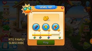 Lets play Meow match level 421 HARD LEVEL HD 1080P