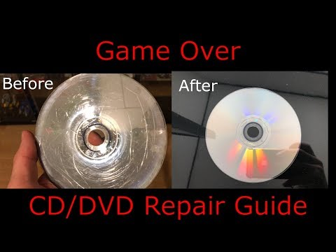How to resurface a scratched DVD, CD, Game Disc  - In 3 easy steps
