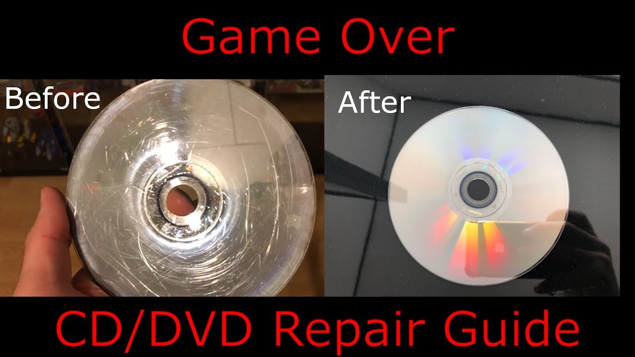 Download How to Resurface a Scratched DVD, CD, Game Disc  - In 3 easy steps
