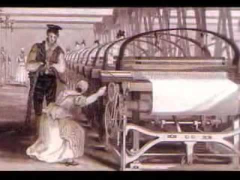 arkwright and water frame.wmv - YouTube