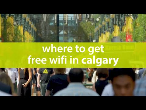 #askmeyyc Mobile Kiosk: Where to Get Free Wifi in Downtown Calgary