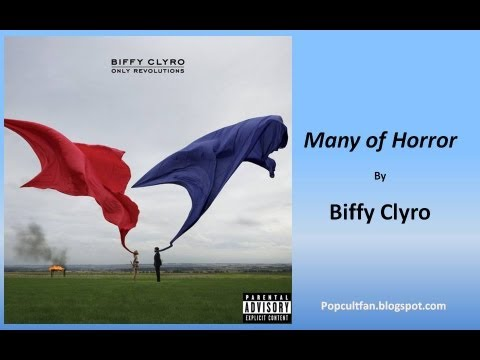 Biffy Clyro - Many of Horror (Lyrics)