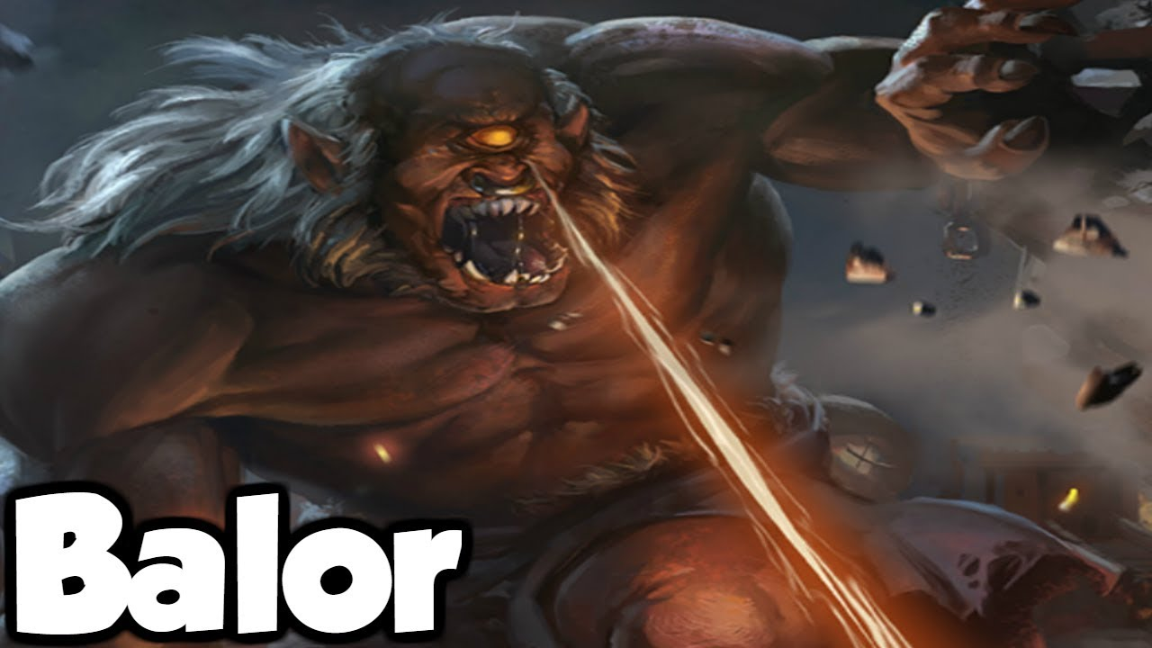 Balor The Deadliest Fomorian Warchief - (Irish/Celtic ...  Balor Myth