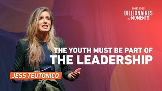 Jess Teutonico: The youth must be part of the leadership