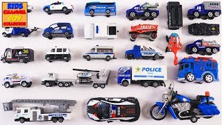 Learning Police Department Vehicles for Kids   Police CAR & TRUCKS   SWAT Vehicles   Educational Toy