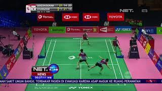 Piala Thomas 2018, Indonesia Menjadi Juara Grub B  -NET24