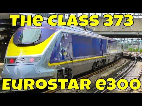 The Eurostar E300 (Class 373)