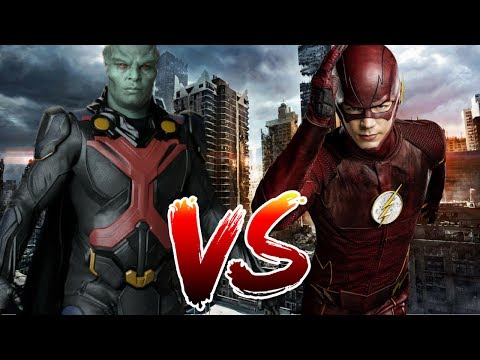 Flash VS Martian Manhunter   Who Wins?