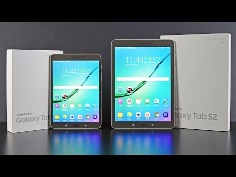 Samsung Galaxy Tab S2: Unboxing & Review