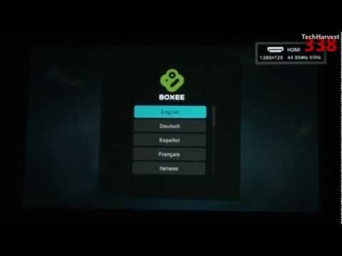 Boxee Box: First Time Power Up & Setup