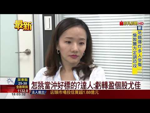 【非凡新聞】當沖投資熱度夯 達人教戰2絕招