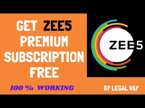 How To Get Zee5 Premium Account For Free - How To Watch Zee5 Free | Watch Zee5 For Free 2020