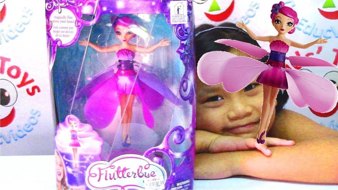 Flutterbye Flying Fairy Doll By Spin Master Kids Toys Youtube