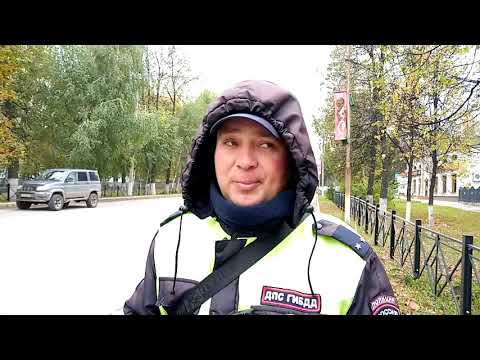 Одинокий гаишник: бугульминский сотрудник ДПС стал народным героем