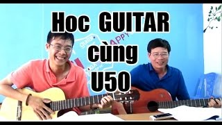 Học 5 buổi Guitar và kết quả TÌNH KHÚC CHIỀU MƯA