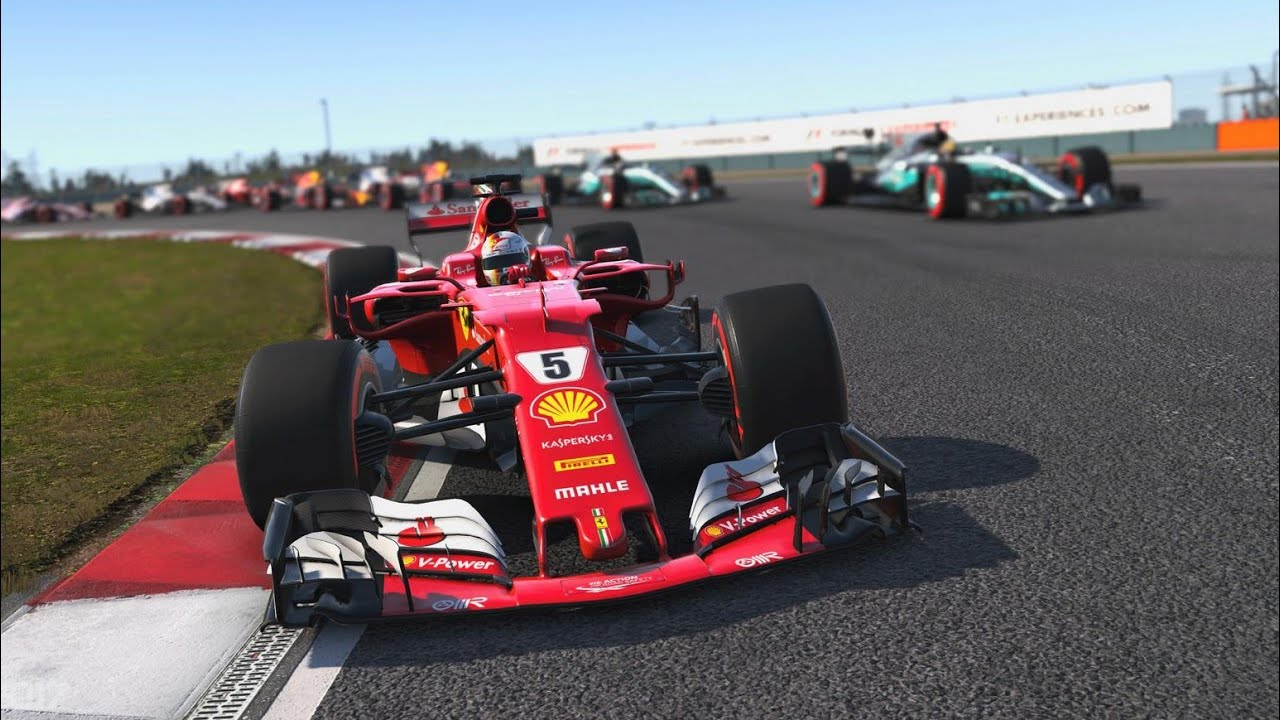 F1 2018 | Chinese GP Shanghai | Sebastian Vettel Ferrari [F1 2017 PS4] - YouTube