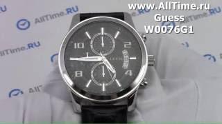 Обзор. Мужские наручные часы Guess W0076G1 с хронографом(, 2016-05-25T17:33:47.000Z)