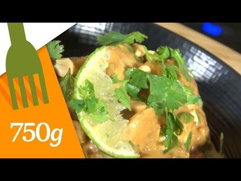 recette-du-poulet-au-beurre-de-cacahuètes---750g