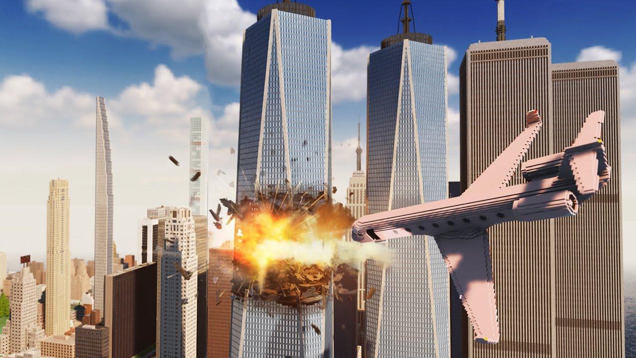 Download Plane Crashes Into New York City   Teardown